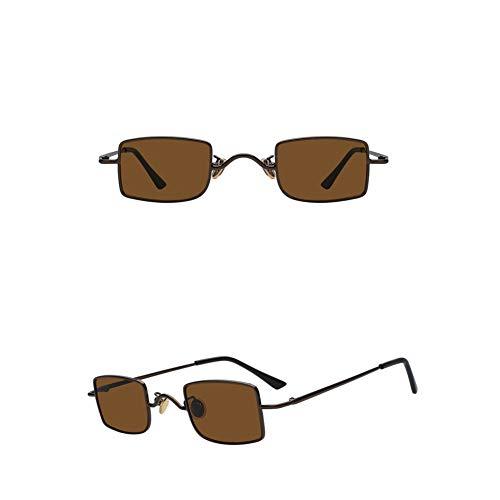 SXRAI Gafas de Sol Mujer Hombre Gafas Amarillo Rosa Gafas de Sol Mujer,C5