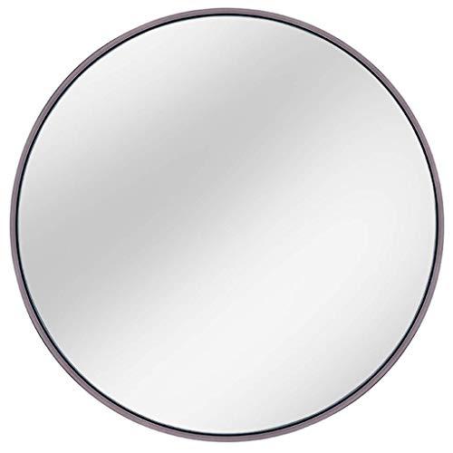 WYJW Badkamer spiegel Moderne douchescherm spiegel Glas spiegel - rond Voor entree, slaapkamer, woonkamer, etc, zilver