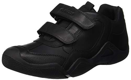 Geox JR Wader A, Zapatillas para Niños, Negro (Black C9999), 37 EU