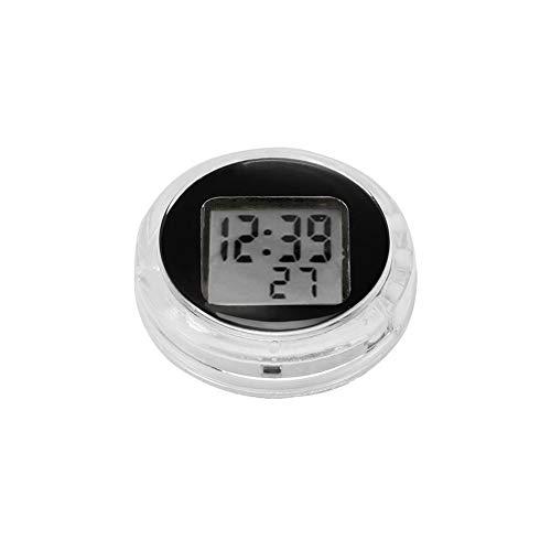 Motorrad Motorrad Uhr Konesky Mini Pocket Universal Stick-On Motorrad Digitaluhr Uhr mit Stoppuhr Funktion IP64 Wasserdicht (1 PCS)