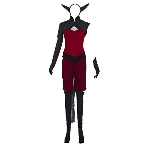 Anime She-Ra and The Princesses of Power Catra Cosplay Costume Women's Halloween Suit Custom Made (Female-L)