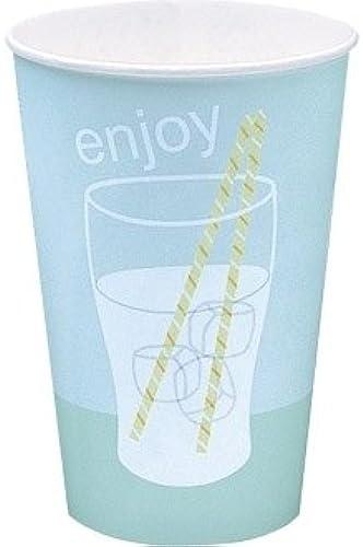 tiendas minoristas Winware Vasos Vasos Vasos de Bebidas Frías. Poly-Coated Junta Tazas de Doble Cara para soportar los Efectos de Hielo y Condensación.  grandes ahorros