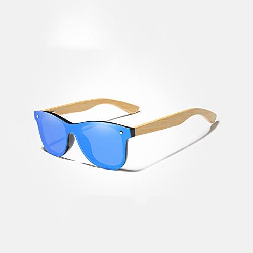 KUNIUO Lente De Espejo Gafas De Sol Polarizadas Hombres Moda Clásica Gafas De Sol Retro Femeninas