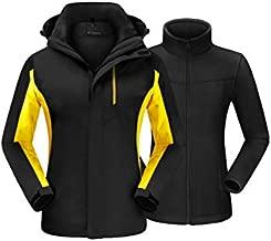 QUEENIEKE Ski Jacket Waterproof Windproof Coat Warm Jacket for Women L Black