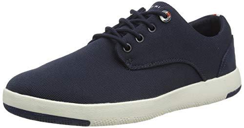 Tommy Hilfiger Herren Lightweight Textile LACE UP Shoe Mokassin, Blau (Desert Sky Dw5), 44 EU