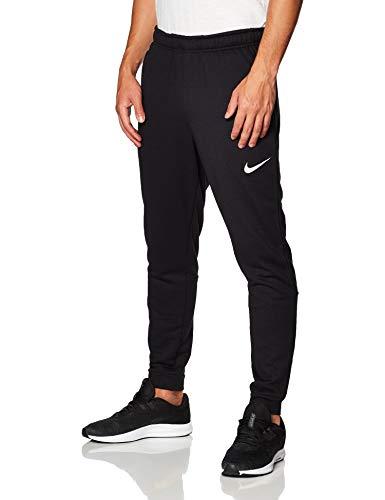Nike Herren M NK Dry Pant Taper Fleece Sport Trousers, Black/(White), XL