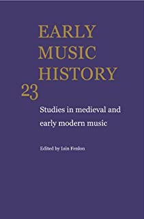 Early Music History 25 Volume Paperback Set (0521759854) | Amazon price tracker / tracking, Amazon price history charts, Amazon price watches, Amazon price drop alerts