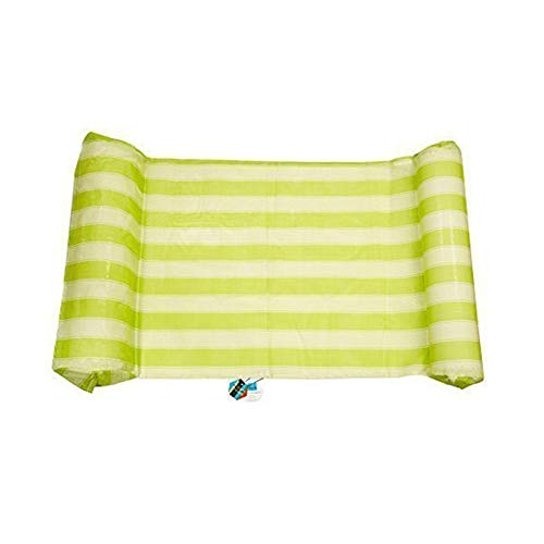 QIHUI Swimming Pool Beach Floating Water Hammock , Inflatable Water Rafts Floating Bed,Spring Float,Floating Chair,Water Sofa,Inflatable Swimming Pool Lounger Chair for Adult and Kids Sum (Green)
