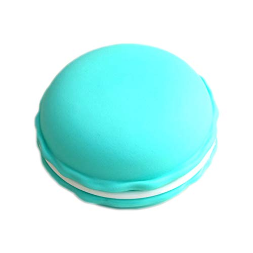 Wilany Caja de joyería Mini Macaron resina cosmética caja de almacenamiento caja de almacenamiento de joyería de viaje caja de almacenamiento