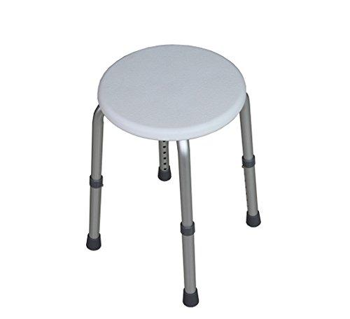 PanYFDD Taburete de ducha para adultos mayores Silla de ducha de aluminio para baño de cuidado personal