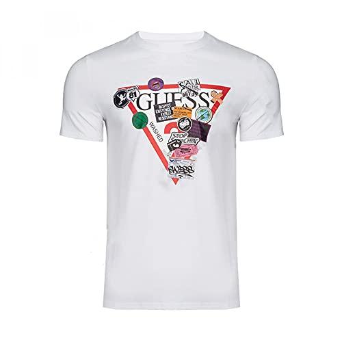 Guess Camiseta Hombre Logo (L)