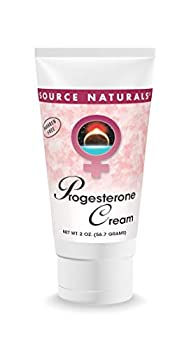 Source Naturals Progesterone Cream - Women s Health Support - High Purity Paraben Free - 2 Ounces