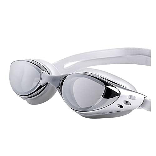 YNLRY Gafas Impermeables Ajustables Protección contra Niebla Adultos Lentes De Colores Buceos Gafas De Natación Gafas De Natación (Color : C)