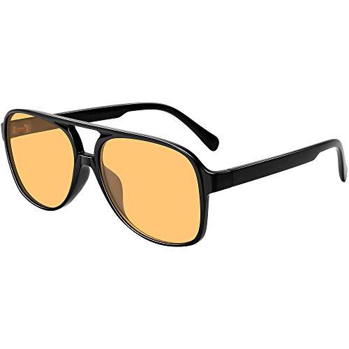 Vintage Aviator Sunglasses for Women Men 70s Classic Retro Large Sunglasses
