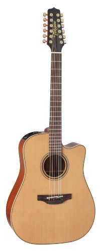 Takamine Pro Series 3 P3DC-12 Dreadnought Body 12-String Acoustic Electric Guitar...