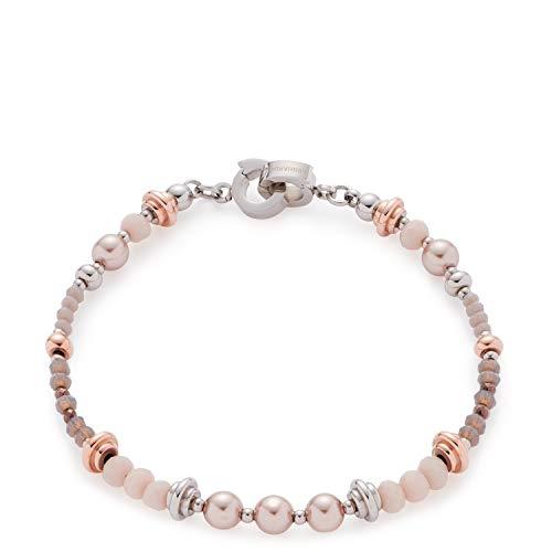 Jewels by Leonardo Damen-Charm-Armbänder Edelstahl Glas 016968