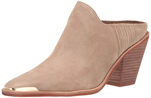 Dolce Vita Women's Kate Ankle Boot, Mushroom Suede, 9.5