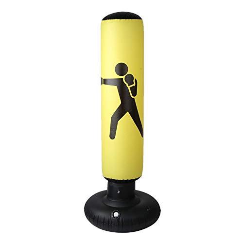 XHLLX Bolsa de perforación Inflable, Bolso de Caja Inflable de 160 cm para niños para Adultos, Bolsa de Arena, PVC, Gimnasio, Boxeo, Entrenamiento, Objetivo para Practicar Karate