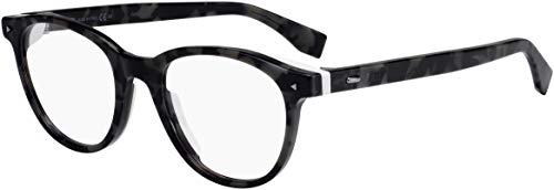 FENDI FF M0019 WR7 50 Gafas de sol, Negro (Black Havana), Hombre