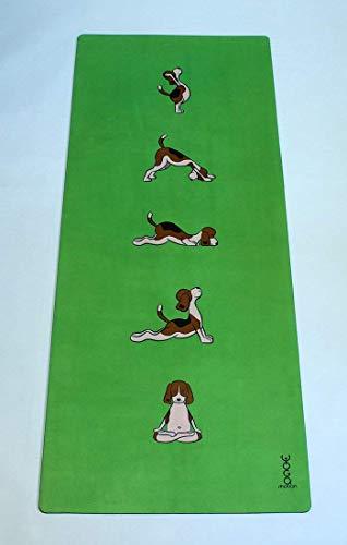 Yoga-Motion, Kinder Yogamatte, 1550 x 610 x 3.5 mm, Fitnessmatte für Kinder, Trainingsmatte für Kinder, Kinder Matte für Sport, Dekoration