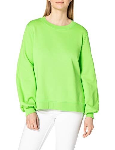 United Colors of Benetton Maglia G/C M/L 3QLAE19I8 Sudadera con Capucha, Green Flash 06z, Mujer