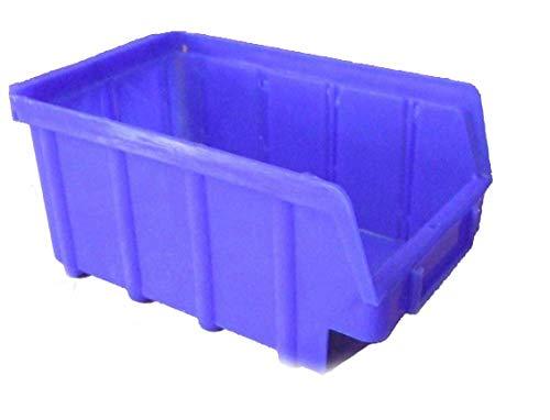 30 Stapelboxen blau Gr. 2 Hobby Schraubenbox Lagerschütte