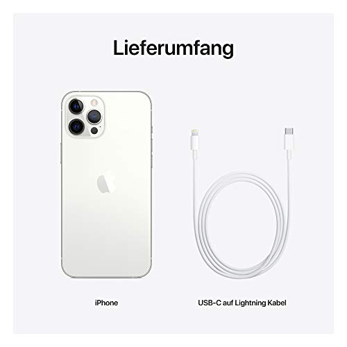 Neues Apple iPhone 12 Pro Max (256GB) - Silber