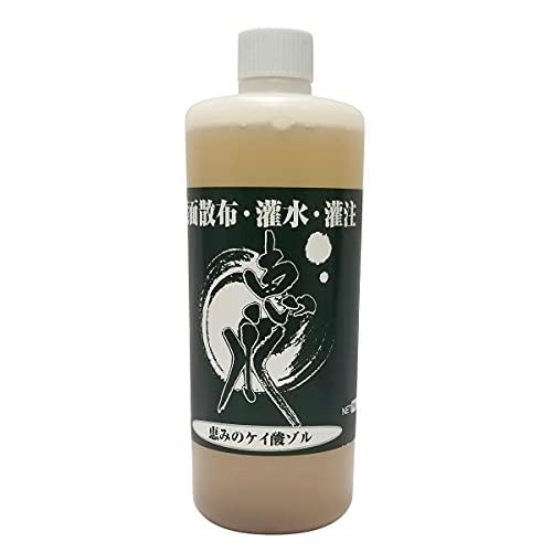 恵水 ケイ酸ゾル ケイ酸資材 恵水 (けいすい )1kg 葉面散布 灌水 灌注用 【 有機質 無機質 混合 】 液体 微量要素複合 肥料