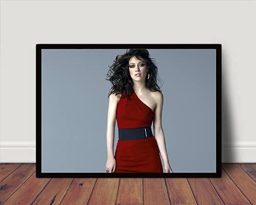 Quadro Decorativo/Poster C Moldura Hilary Duff Pop P4449