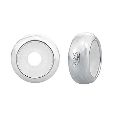 Charm in argento Sterling, Distanziatore per braccialetti Pandora Silver