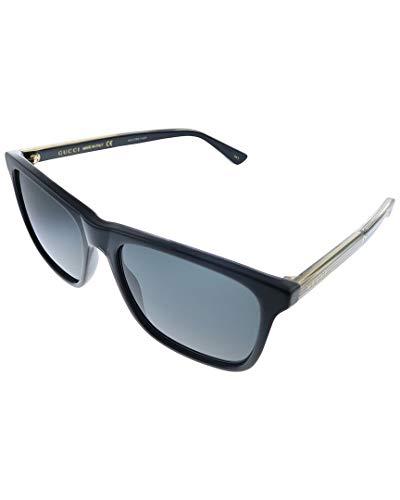 Gucci Gafas de sol GG0381S 006 negro tamaño de 57 mm de gafas de hombre