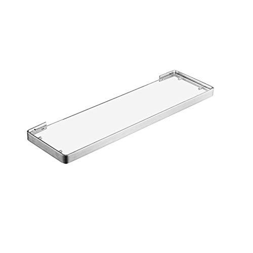 FGA Tocador de Acero Inoxidable Baño Estante de Vidrio Herrajes Accesorios de baño Mesa de Vidrio Cepillado