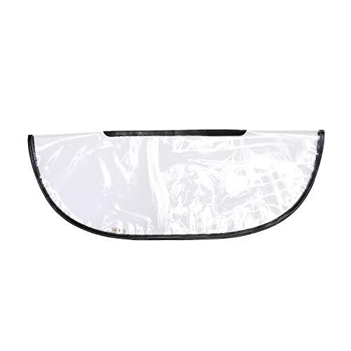 IN Handbag, Totebag Raincoat Women's, Handbag poncho, handbag umbrella, Keep Handbag Dry in any Weather (Large, Transparent)