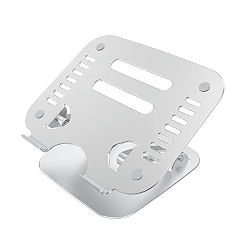 MOTT Soporte de aluminio premium para ordenador portátil, soporte ajustable para ordenador portátil, elevador portátil con ventilación de calor para Mac, soporte para portátiles de 10 a 17