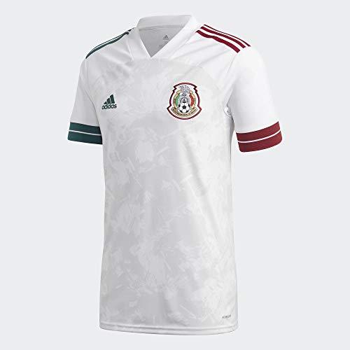 adidas FMF A JSY Camiseta, Hombre, Blanco, M