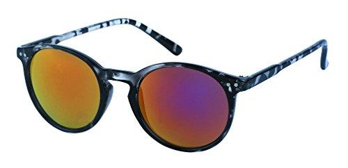 Des lunettes de soleil Chic-net sur Sun Glasses souligne Rétro 400UV serrure pont rose