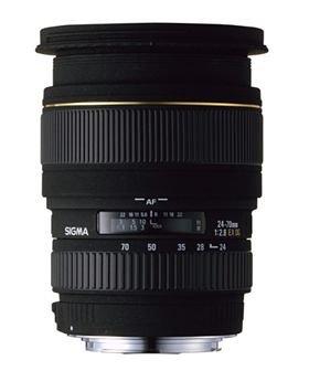 Sigma 24-70mm F2,8 EX DG Makro Objektiv (82mm Filtergewinde) für Nikon D