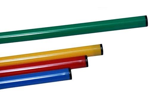 Agility Sport pour Chiens - Jalon, Longueur 80 cm, Ø 25 mm, Vert - 1x 80g