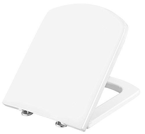 Cornat WC-Sitz ONDO weiß / Toilettensitz / Toilettendeckel / Klodeckel / WC-Deckel |Duroplast / KSOND00