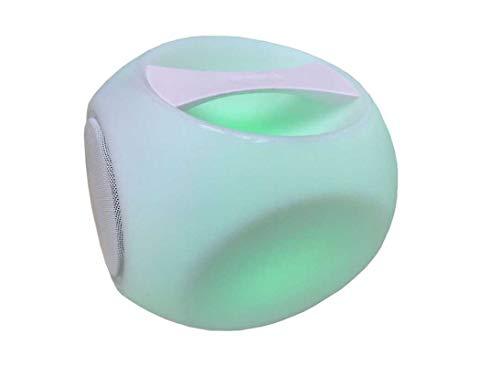 Proloisirs Lampe Cube avec Bluetooth et Haut Parleur 10W