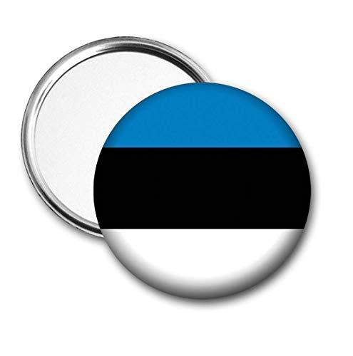 Estland Vlag Pocket Spiegel voor Handtas - Handtas - Gift - Verjaardag - Kerstmis - Stocking Filler - Secret Santa