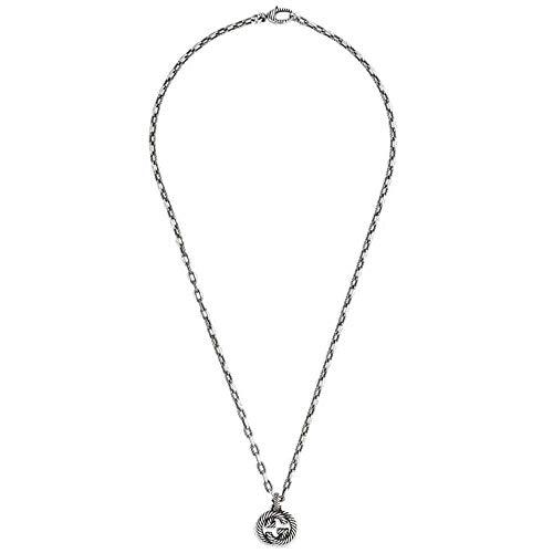 Gucci interlocking g zilveren ketting 50 cm/19,5 inch ybb60415500100u