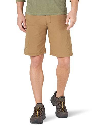 Wrangler Authentics Men's Performance Comfort Flex Cargo Short, bronze, 34