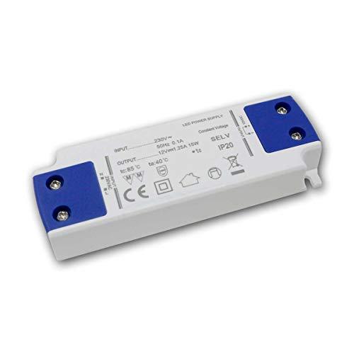 world-trading-net - Transformador Super SlimLine WTN-FLAT, 12V/15W, IP20, diseño plano