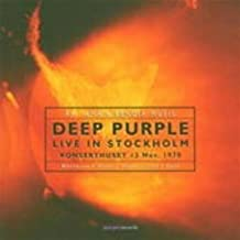 Live in Stockholm 1970 by Deep Purple (2005-07-05)
