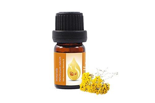 Perpetuini d'Italia (Helichrysum italicum), Olio essenziale, 100% puro, non diluito, grado terapeutico (5ml)