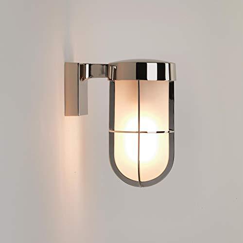 Astro Lighting - Applique extérieure Cabin givré wall IP44 - Nickel