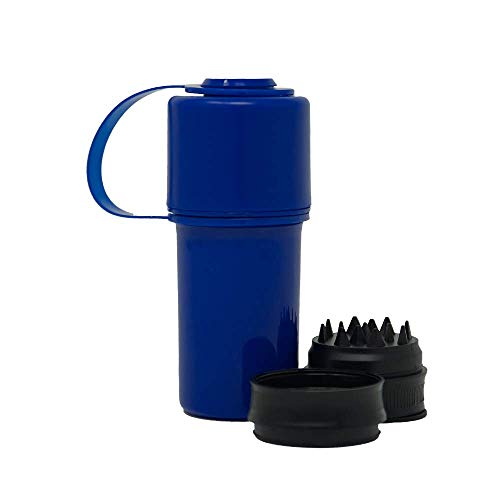 HEMPER Keeper 3-IN-1 Grinder + Storage System with Smell Proof Top