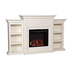 Best Electric Fireplaces with Mantel bookshelf