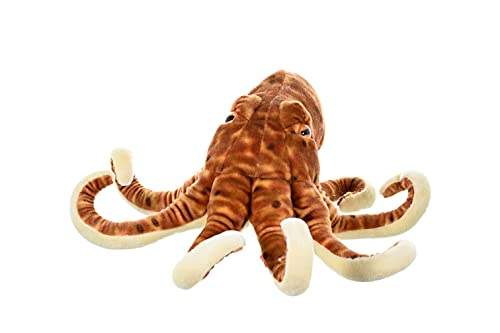 Wild Republic 10939 Plüsch Oktopus Krake, Cuddlekins Kuscheltier, Plüschtier 30 cm